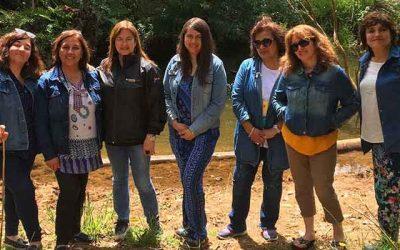 Bosques para Ti realiza terapia forestal a personal de la municipalidad de Mafil